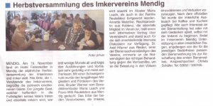 161207 Mendiger Mitteilungsblatt HV